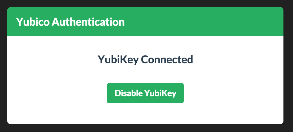 yubikey-connected